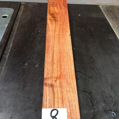 Namibian Rosewood Fretboard 570x70x9-10 mm