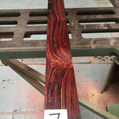 Mexican Cocobolo AAA 670x73x9-10 mm (old stock)