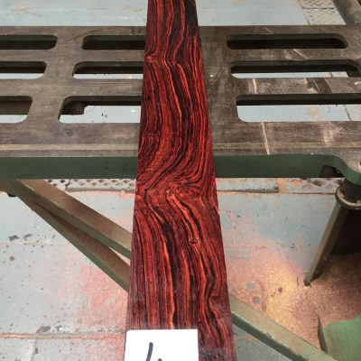 Mexican Cocobolo AAA 670x73x9-10 mm