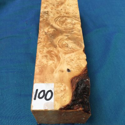 Maple Burr (Premium) 3x3x12 inches