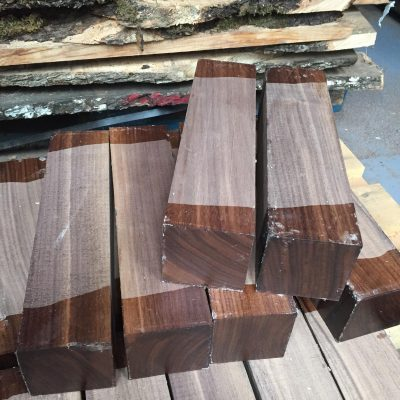American Walnut 3x3x12 inches (75x75x305 mm)