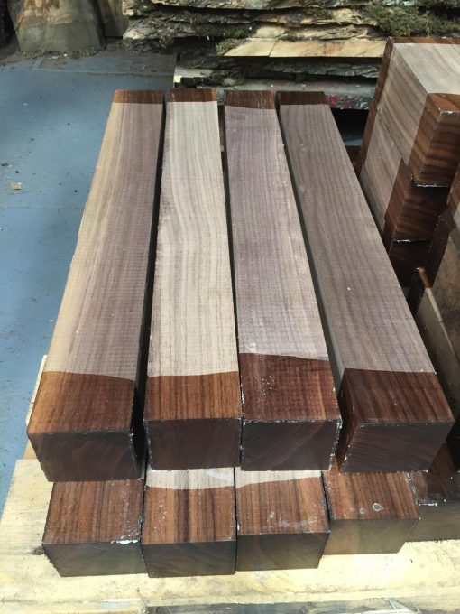 American Walnut 3x3x24 inches (75x75x610 mm)