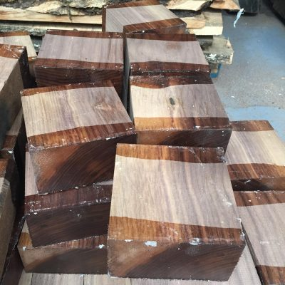American Walnut 5x5x3 inches (127x127x75 mm)