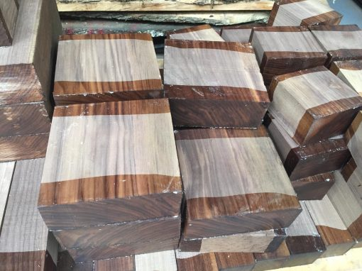 American Walnut 7.5x7.5x3 inches (190x190x75 mm)