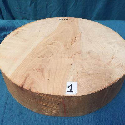 Maple A Grade 16x3 inches