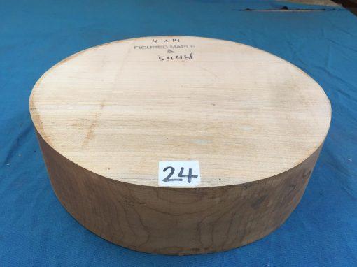 Maple A Grade 14x4 inches