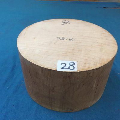 Maple A Grade 9x5 inches