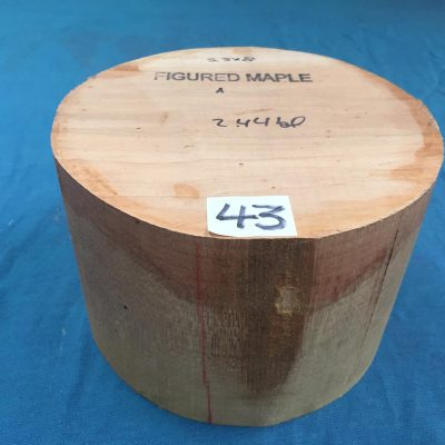 Maple A Grade 8x5.5 inches
