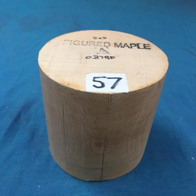 Maple A Grade 5x5 inches