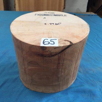 Maple A Grade 8x6.5 inches