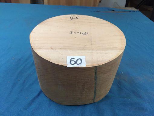 Maple A Grade 9x5.5 inches