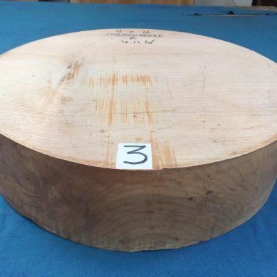 Maple A Grade 16x4 inches