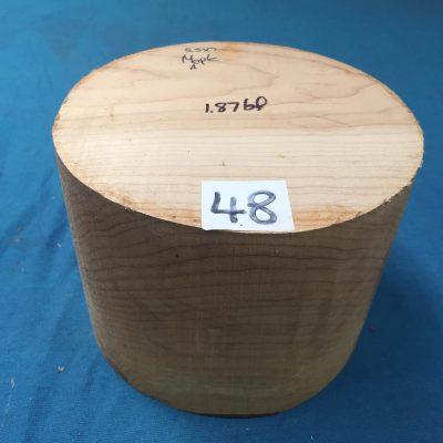 Maple A Grade 7x5.5 inches