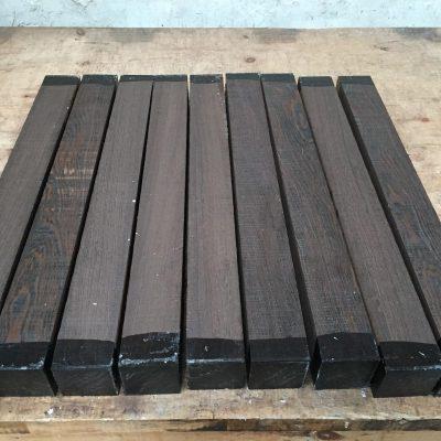 Wenge 2.5x2.5x24 inches