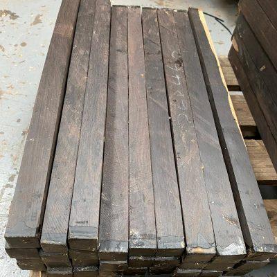 African Blackwood (FSC 100%) 1x1x18 inches