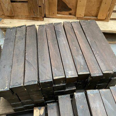 African Blackwood (FSC 100%) 1.5x1.5x8 inches