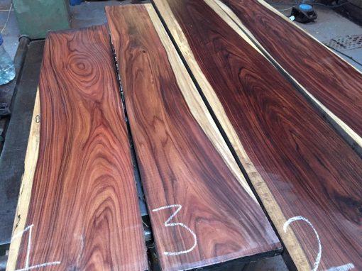Bolivian Rosewood 820x190x22-25 mm