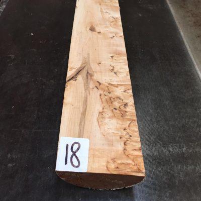 Karelian / Masur Birch 430x80x40 mm
