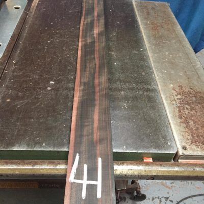 Macassar Ebony 915x75x25 mm