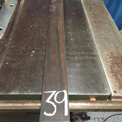 Macassar Ebony 915x70x25 mm
