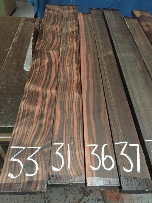 Macassar Ebony 1025x100x25 mm