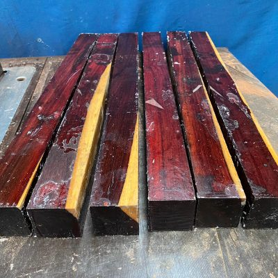 Katalox (Mexican Royal Ebony) 2x2x24 inches