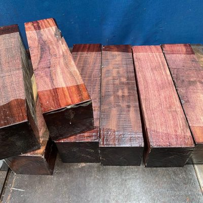 Katalox (Mexican Royal Ebony) 3x3x12 inches