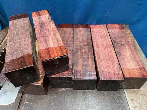 Katalox (Mexican Royal Ebony) 3x3x12 inches