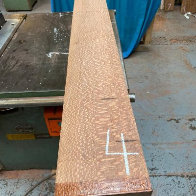Leopardwood 1410x185x51 mm