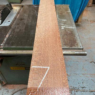 Leopardwood 1370x150x50 mm