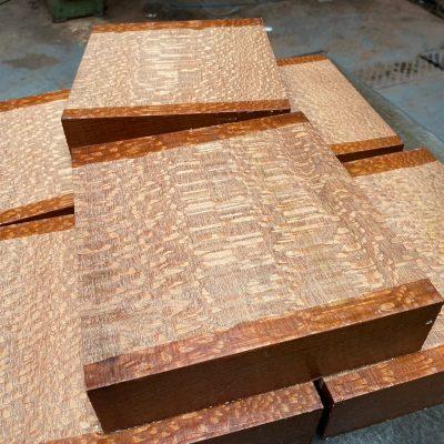 Leopardwood 8x8x2 inches