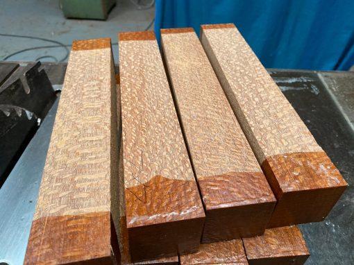 Leopardwood 2x2x12 inches