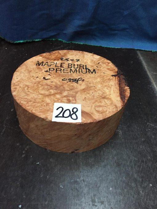 Maple Burr (Premium) 7x2.5 inches