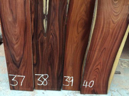 Bolivian Rosewood 2030x215x24 mm