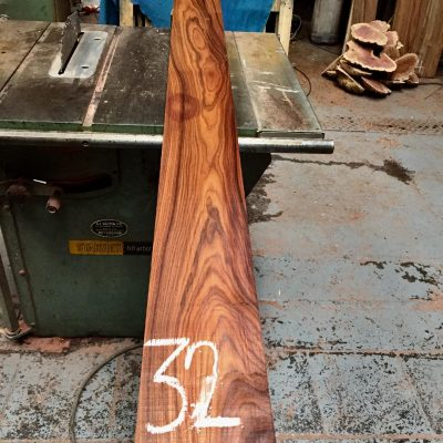 Bolivian Rosewood 2000x150x23 mm