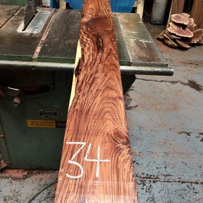 Bolivian Rosewood 1800x150x22 mm