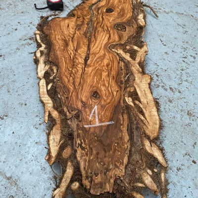 Olivewood Root Burl 39x15x2 inches