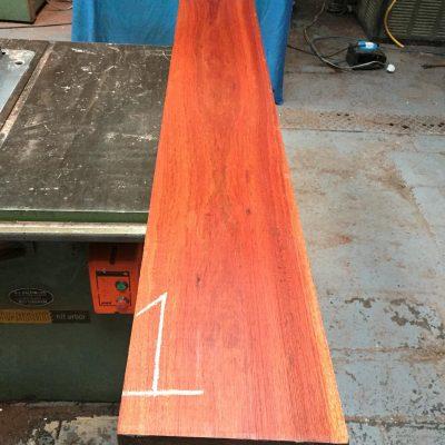 Bloodwood 1830x225x52 mm