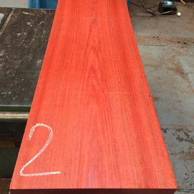 Bloodwood 1250x360x50 mm