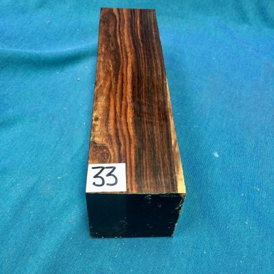 Bocote 3x3x12 inches