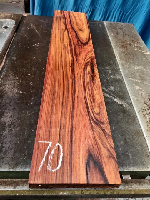 Bolivian Rosewood 750x150x23-25 mm