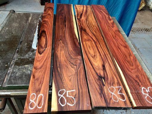 Bolivian Rosewood 1220x100x23-25 mm