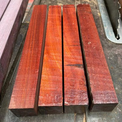 Bloodwood 1.5x1.5x12 inches