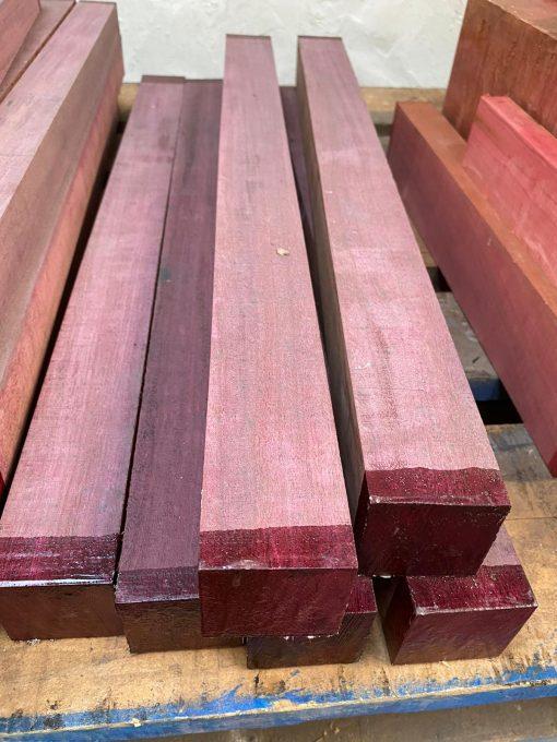 Purpleheart 2x2x24 inches