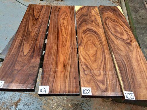 Bolivian Rosewood 610x150x(23-25mm)