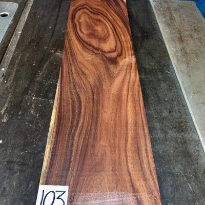 Bolivian Rosewood 670x150x(23-25mm)