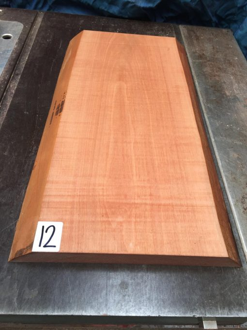 Pearwood 510x250x25-30mm