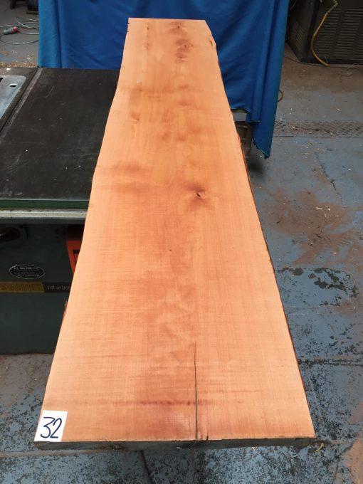 Pearwood 1650x330x25-30mm