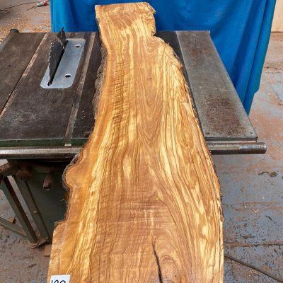 Mediterranean Olivewood Board 1350x280x28-32 mm