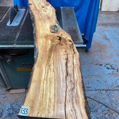 Mediterranean Olivewood Board 1550x250x28-32 mm